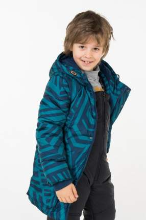 Пальто зимнее для мальчика Button Blue, цв.синий, р-р 158