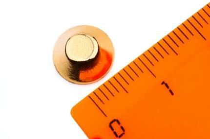 Неодимовый магнит Forceberg конус 10/5х4 мм, 6шт