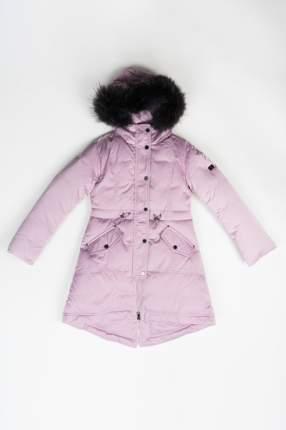 Пальто зимнее для девочки Pulka, цв.розовый, р-р 158