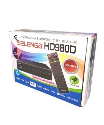 Приемник телевизионный DVB-T2 Selenga HD980D (H.265)