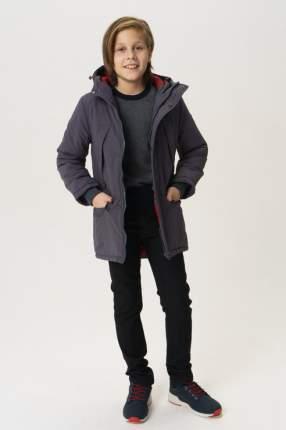 Пальто для мальчика Button Blue, цв.серый, р-р 104