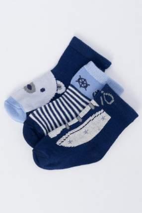 Носки детские 3 пары Mayoral, цв. голубой; синий р.16