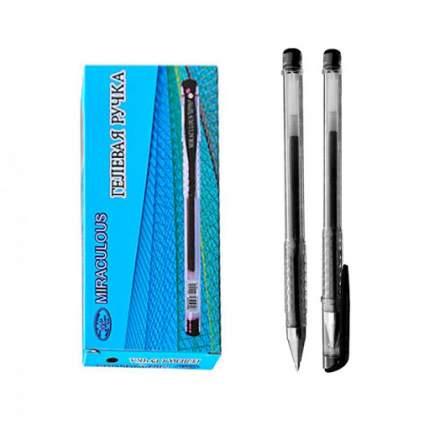 Ручка гелевая, чёрная