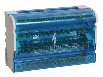Клеммная шина IEK DIN-рейку в корпусе (кросс-модуль) 3L+PEN 4х15