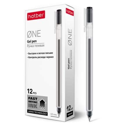 """Ручка гелевая """"One"""", 0,5 мм, черная"""