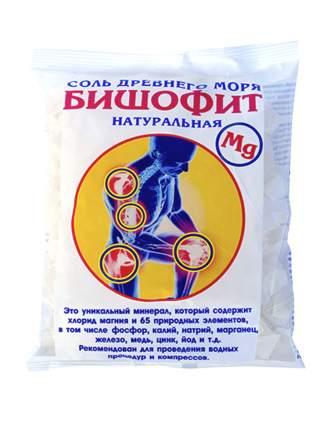 Соль для ванн Saules Sapnis Бишофит сухой, без добавок, 0,5 кг