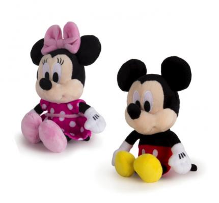 """Disney Мягкая игрушка """"Микки и весёлые гонки"""" (20 см, звук, шоубокс, в ассорт.) Disney"""
