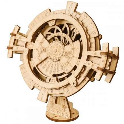 LK201 3D деревянный пазл Robotime Магические механизмы Вечный календарь