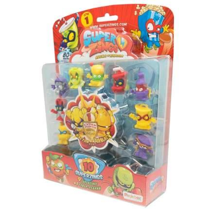 Игровой набор SuperZings Блистер 10 фигурок Magic Box Toys