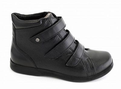 Ботинки мужские 29309 Sursil-Ortho черный, р.42