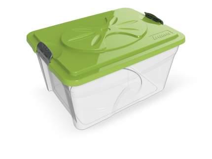 Контейнер для корма Bama Pet Sim Box 18 л, прозрачный