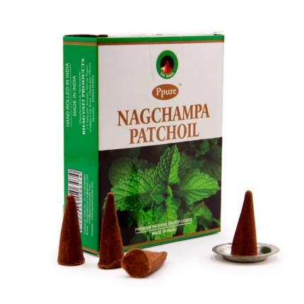 Благовония Конусы Ppure Patchouli Пачули