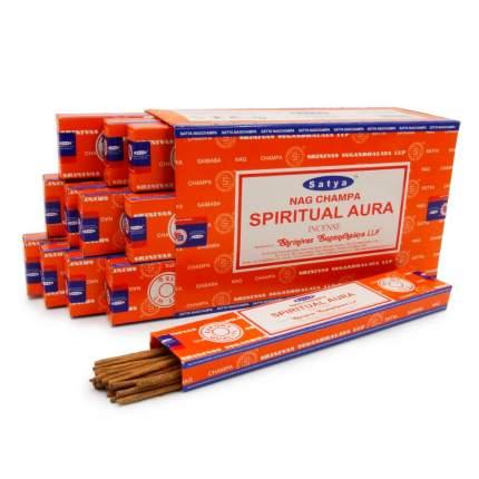 Благовония Satya масала Spiritual Aura 15gm