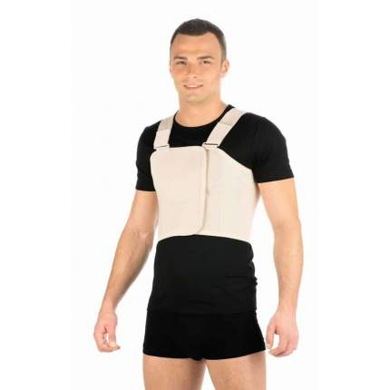 Бандаж ортопедический Тривес T-1339, грудной послеоперационный бежевый