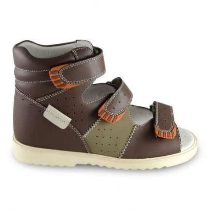 Ортопедические сандалии Sursil-Ortho 15-257_S мужские коричневый