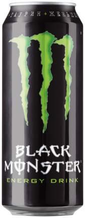 Напиток Black Monster энергетический безалкогольный, 0,449 л