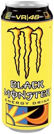 Напиток Black Monster Energy The Doctor энергетический безалкогольный, 0,5 л