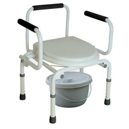 Кресло-туалет с опускающимися подлокотниками CA667 Тривес