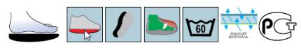 Босоножки Барука Sursil-Ortho терапевтические 09-106 черный р.XS
