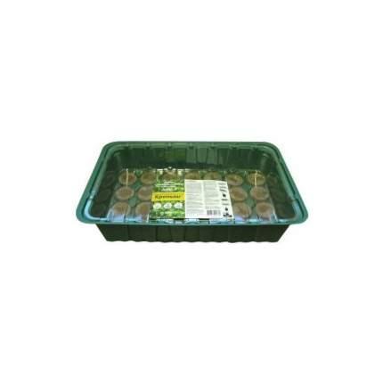 Парник с торфяными таблетками 24 ячейки Крепыш