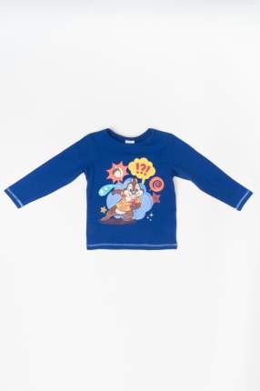 Лонгслив для мальчика PlayToday, цв.синий, р-р 122