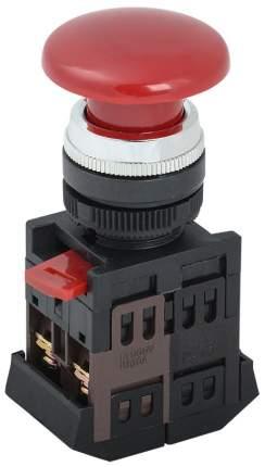 IEK Кнопка AEА-22 Грибок красный d22мм 1з+1р