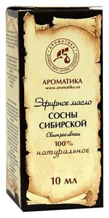 Эфирное масло Ароматика Сосны сибирской 10 мл