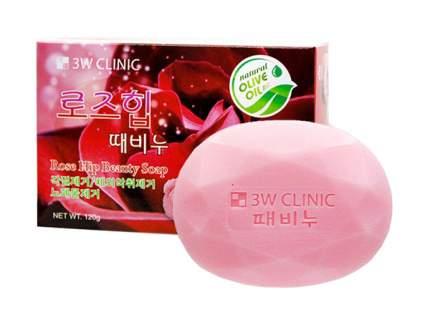 Мыло 3W Clinic Rose Hip 120 г