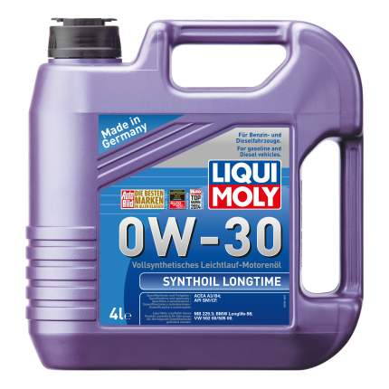 Моторное масло Liqui moly Synthoil Longtime 0W-30 4л