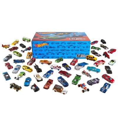 Базовые машинки Mattel Хот Вилс, 50 шт.