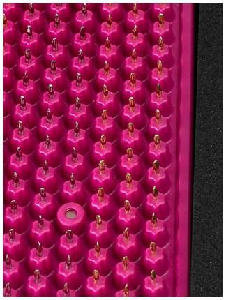 Массажер металломагнитный 15х22см, малиновый, полиметаллический (Аппликатор Кузнецова)