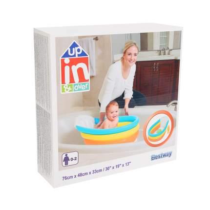Ванночка надувная Bestway Радуга, 76*48*33 см, от 0-2 лет