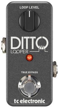 Педаль эффектов TC electronic Ditto Looper гитарная