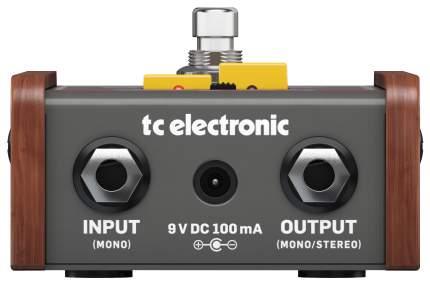 Эффект гитарный TC electronic JUNE-60 CHORUS полностью аналоговый стерео хорус