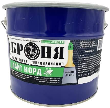Броня Лайт Норд 10л зимняя теплоизоляционная шпатлевка