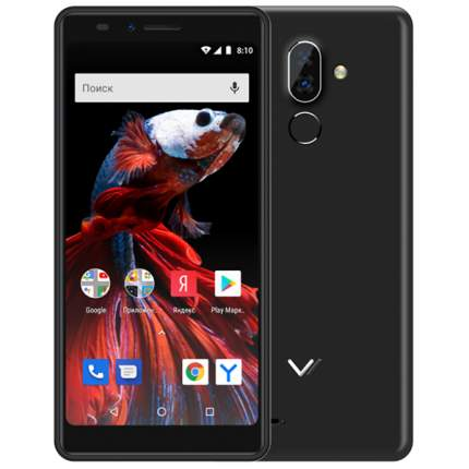 Смартфон Vertex Impress Rosso NFC 4G Grafit