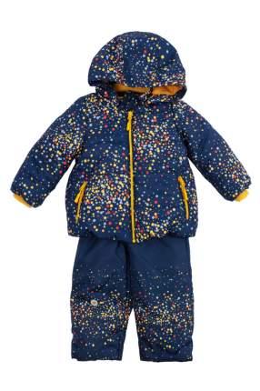 Куртка и полукомбинезон для девочки PlayToday, цв.синий, р-р 98