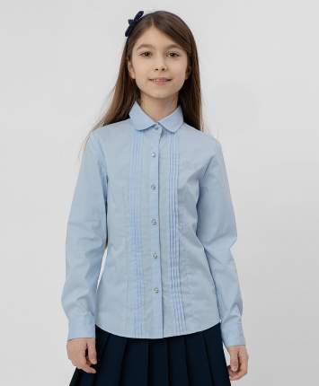 Голубая рубашка BUTTON BLUE с бантиком, модель 220BBGS22041800, размер 122*60*54