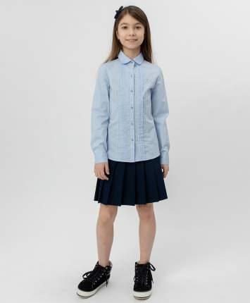 Голубая рубашка BUTTON BLUE с бантиком, модель 220BBGS22041800, размер 170*84*69
