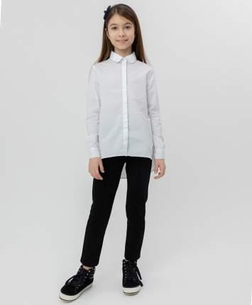 Белая рубашка с удлиненной спинкой BUTTON BLUE, модель 220BBGS22120200, размер 170*84*69