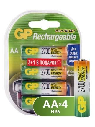 Аккумуляторная батарея GP АА (HR6) 2700 мАч, 4 шт