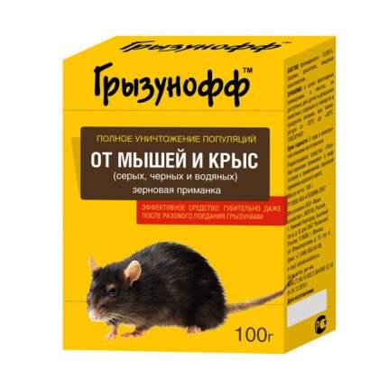 Средство от грызунов Грызунофф 1040011 Зерновая приманка в коробке 100 г