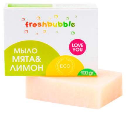 Мыло кусковое Freshbubble мята и лимон 100 г