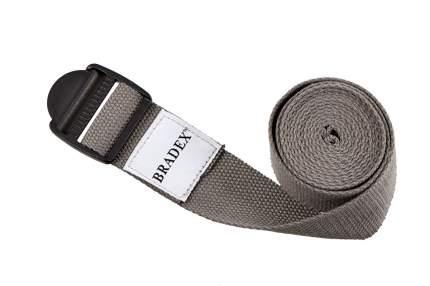 Ремень для йоги Bradex SF 0410, серый