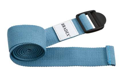 Ремень для йоги Bradex SF 0411, голубой