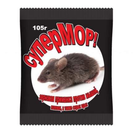 Приманка мышей, полевок, а также серых крыс Ваше Хозяйство Супермор зерно 105 г
