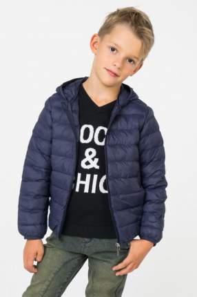 Куртка для девочки Brums, цв.синий, р-р 128