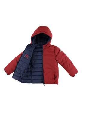 Куртка для мальчика iDO, цв.бордовый, р-р 122