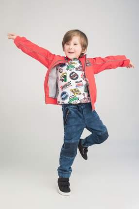 Куртка для мальчика PlayToday, цв.розовый, р-р 98