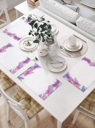 Комплект салфеток для сервировки стола «Бабочковые формы» (32х46 см, 4 шт.)